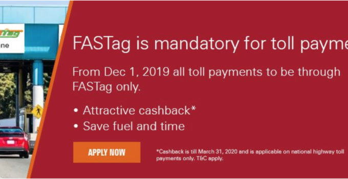 FASTag through ICICI Bank